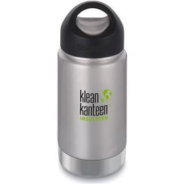 Klean Kanteen Insulated Wide w/Wide Loop Cap - brushed stainless 355 ml