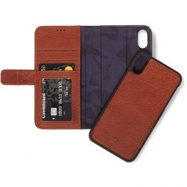 Decoded Leather 2in1 Wallet Brown iPhone XS/X