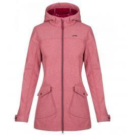 Dámský kabát Loap Latisha Velikost: L / Barva: růžová